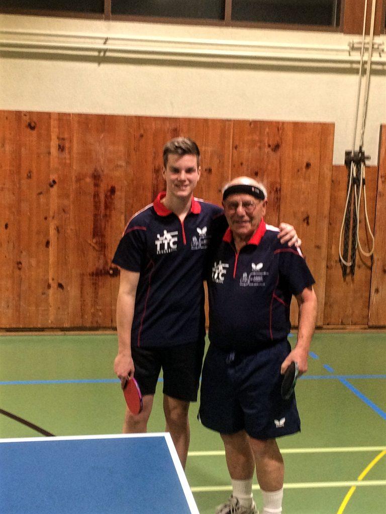 Cyril und Franz (02.02.2017 - 4. Liga Match gegen Buochs)