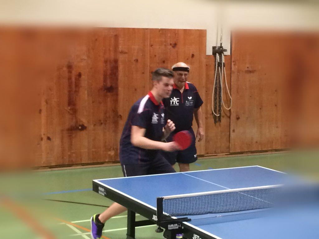 Cyril und Franz (02.02.2017 - 4. Liga Match gegen Buochs - in Aktion)
