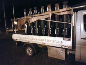 Umzug TTC Reussbühl vom Staffeln in die Aula Utenberg
